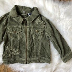 Baby Gap Corduroy Star Jacket 3T